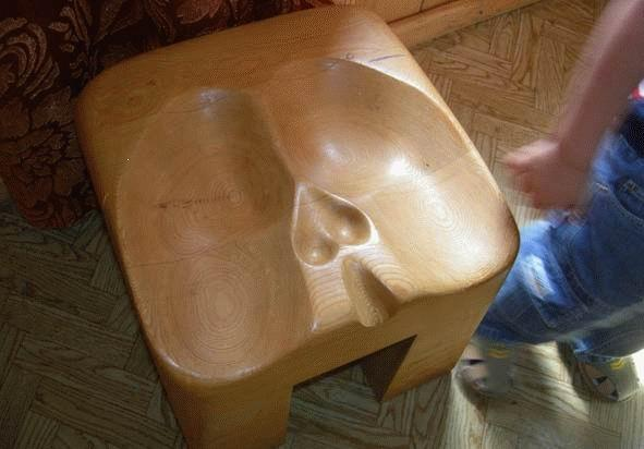 Bar Kilt Stool